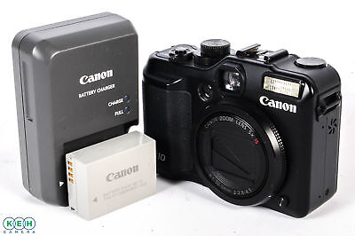 Canon Powershot G10 Digital Camera (14.7MP) W/Battery & Charger