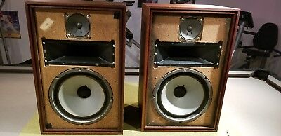 Vintage Pair Of Speakers For Tube Amp Tested Works Great   JENSEN ?