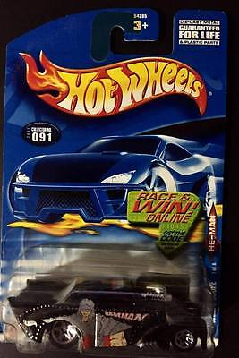 Hot Wheels '41 Willys Coupe. 2002 Model Collector #091 - Mattel