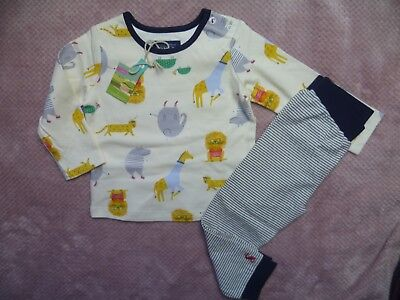 Joules baby boys long sleeved top and trousers set outfit 6-9 months bnwt