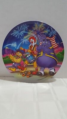 McDonalds DInner Plate 1998 4th Of July Independence Day NEW
