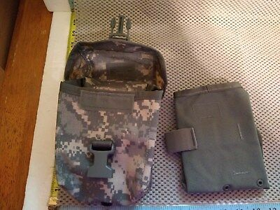 Military Surplus ACU Molle DigiCam IFAK First Aid Ammo  Utility Pouch W INSERT