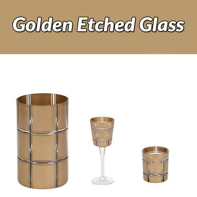 Yankee Candle Golden Etched Glass Accessories Range You Choose FREE P+P