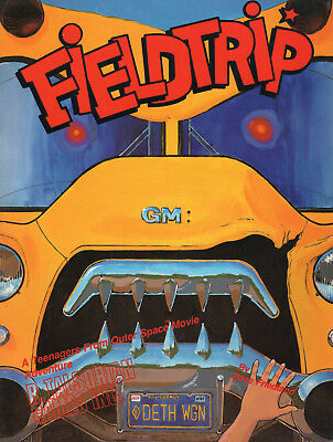 Teenagers From Outer Space: FIELDTRIP Adv.-RaR