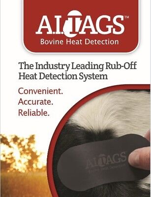 Heat Detector AI TAGS Cow Bovine 40% off Retail WHOLESALE Lot of 500 AITags