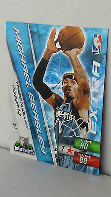 2010-11 Adrenalyn XL Extra Signature ES7 MICHAEL BEASLEY (Timberwolves)