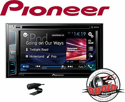 Pioneer avh-x490dab DIGITAL RADIO DOUBLE DIN Bluetooth/USB / DAB DVD / iPod NEW