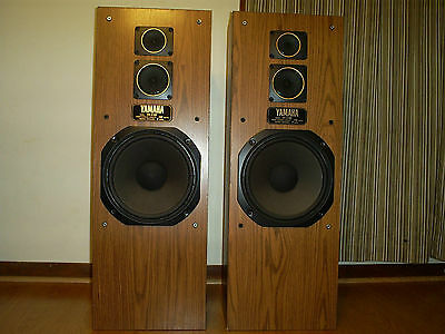 Vintage Yamaha Ns-A180 3-Ways Loudspeaker System 280 Watts Powerful Sound