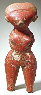 Pre-Columbian NAYARIT CHINESCA FIGURE, EX: SOTHEBY '78