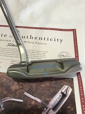 NEW Scotty Cameron WELDED FLOW NECK 009M Masterful SSS CIRCLE T TOUR CT Putter