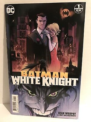 DC 2017 Batman White Knight Issue #1 Cover A 1st Print VF Condition