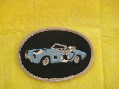 "Vintage Ford AC Cobra Racing  Patch  3 1/2  "" X  2 1/2 """