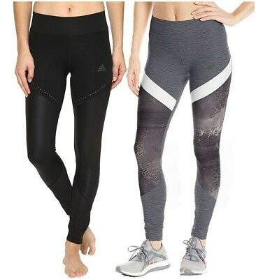 NEW Adidas Women's Climalite Wow Drop Tight Full Length Pilates Gym Yoga Pants