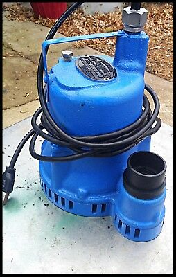 Hydromatic/ Adrora submersible/ Effluent pump SW125A1