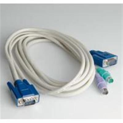 ROLINE 11.01.5511 KVM-Kabel Switch - PC (PS/2) 3,0 m