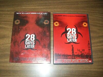 28 Days Later Dvd With Slipcover Full Screen Special Edition With Chapter Menu