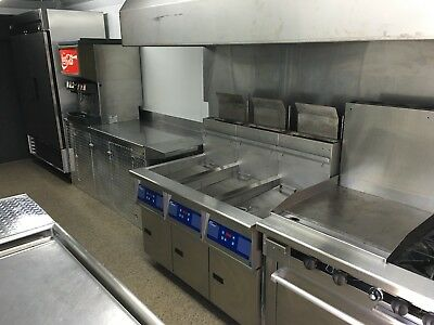 Custom Built Catering Trailer with 20 ton A/C unit, 15kw Generator, & Water tank