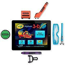 Griffin GC35976 Crayola Digitools Ultra iPad Accessory Pack Drawing 3D Glasses
