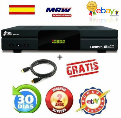 Nuevo  Iris 9800 Hd  Con Wifi+Regalo Cable Hdmi Mrw 24H+ Factura--