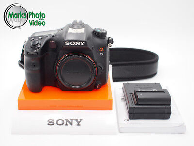 Sony Alpha A77 Digital SLR Camera Body Only #8702