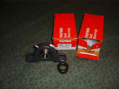 (2) Fafnir Pillow Block Bearings RAS 3/4 (34612-D3)
