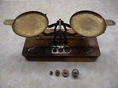ANTIQUE BURKE AND JAMES PHOTOGRAPHY SCALE w/ CASE