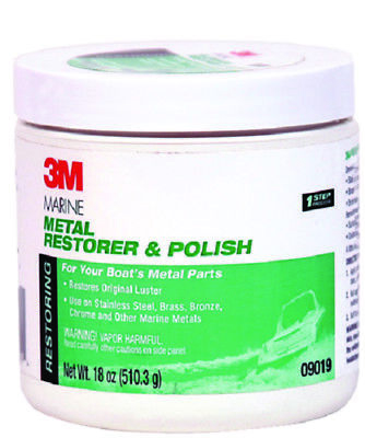 18-ounce Paste Bright 3m 09019 Marine Metal Restorer And Polish Glues, Epoxies & Cements