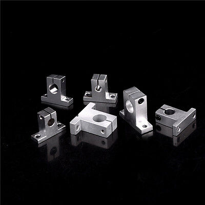 3PC SK8-20 Bearing Linear Rail Shaft Support XYZ Table CNC Router HU TO