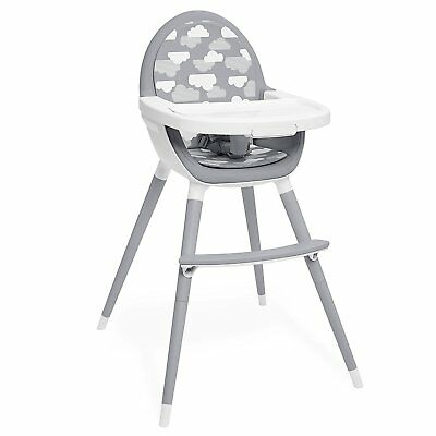 skip hop tuo convertible high chair in grey