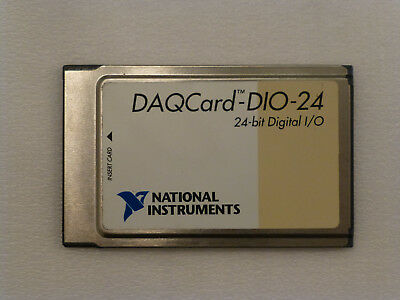 National Instruments DAQCard-DIO-24 PCMCIA NI DAQ Card, Digitial I/O