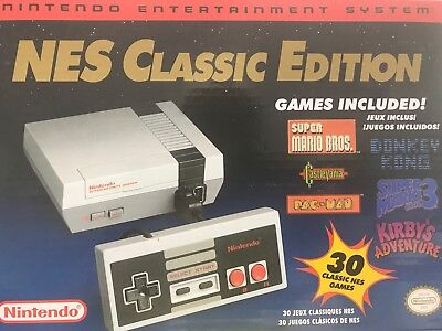 Nintendo NES Classic Edition - Brand New!  PLEASE LIMIT ONE PER ORDER
