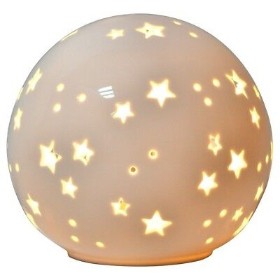 Starry Globe Nightlight Electric Kids Child Bedroom Glowing Stars Decor New