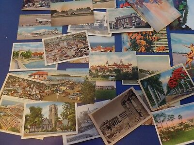 60 Vintage Postcards  1910 to about 1960