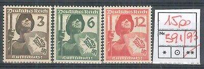 GERMANIA REICH 1937 - ** (catalogo n.° 591/592) (6371)