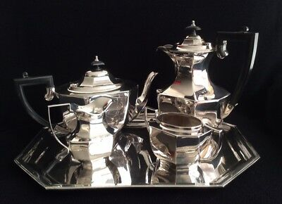 Art Deco Tea/Coffee Service with tray