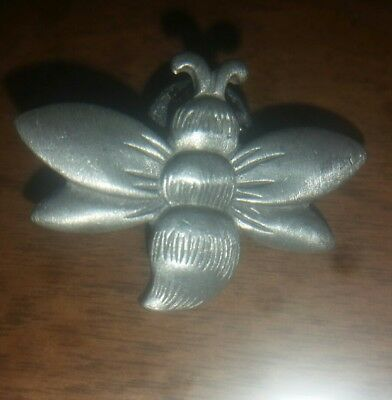 2002 Longaberger Bumble Bee Pin/Pewter Jewelry