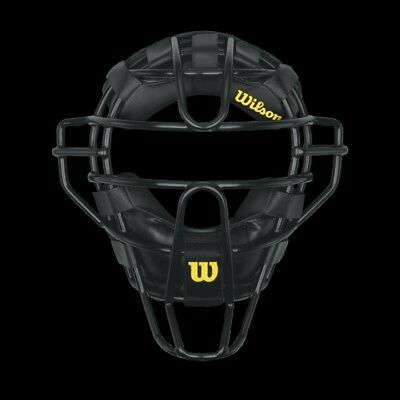 Wilson DYNA-LITE STEEL UMPIRE MASK - SYNTHETIC