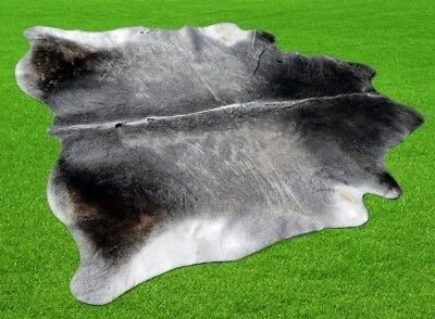 "New Cowhide Rugs Area Cow Skin Leather 22.13 sq.feet (59""x54"") Cow hide P-11"