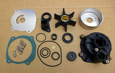 Evinrude Johnson 85 88 90 110 112 115 Hp V4 Water Pump Repair Kit With Housing