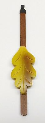 "Cuckoo Clock Pendulum Oak Leaf Style NEW Green German Made 8"" 1.5"" Wide"