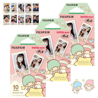 Fujifilm Instax Mini Little Twin Star Film 30 Film For Fuji 8 9 25 70 90 Camera