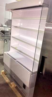 Interlevin Open Multideck Slimline Chiller Display Drinks Dairy