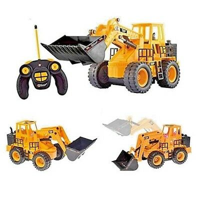 Remote Control Tractor Construction Truck Boys Kids Toy Play Cool Gift Brand NEW