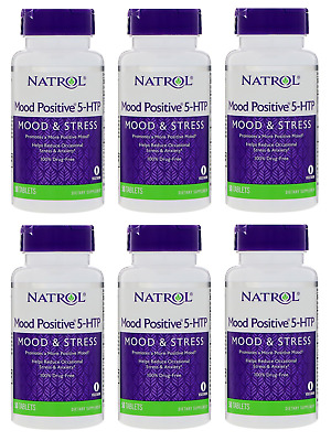 Natrol Mood Positive 5 HTP 50 Tablets (6 Pack)