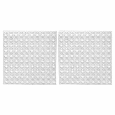 200x Transparent Rubber Feet Adhesive Bumper Pads Self Stick Bumpers Sound P4I1