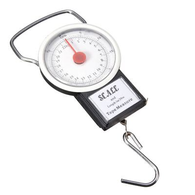 Portable Luggage Travel Scale Hanging Suitcase Hook 22kg 50lb Measuring Tap E2S1