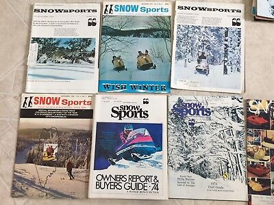 One Vintage Snow Sports Magazine Your Choice