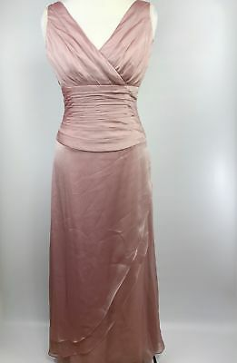Jade by Jasmine Womens Dress Size 4 Pink Mother of Bride Bridesmaid Formal Dress