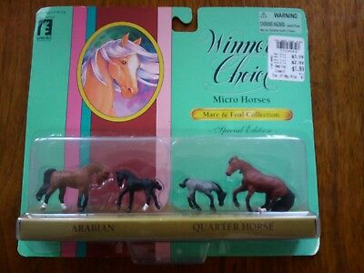Winners Choice Micro Horses Special Edition Arabian Quater Horse  Sealed Mint