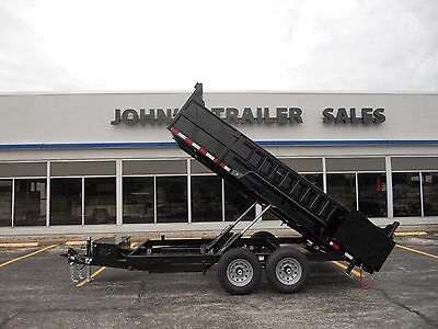 """Brand New 2018 83""""x14' Dump Trailer 14,000# Gvwr Loaded Year End Special Price$$"""